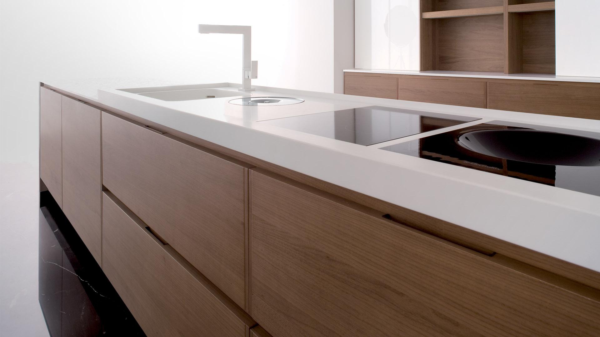 Krijtbord Keuken Ikea : White Kitchens with Corian Countertops